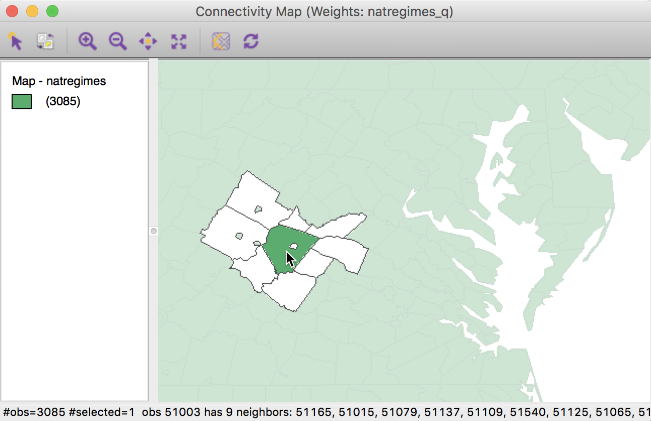 Contiguity-Based Spatial Weights