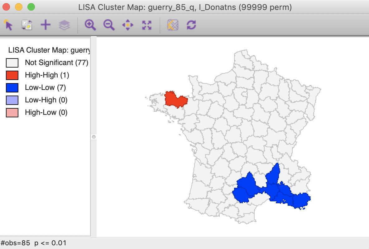 Local Spatial Autocorrelation (1)